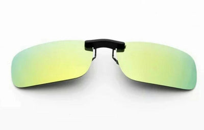Unisex Polarized Clip On Sunglasses Night Vision Lens