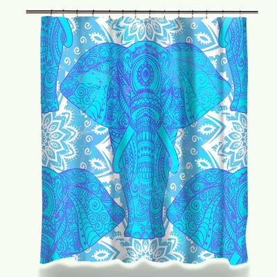 Shower Curtain   Elephant