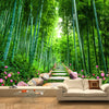 3D Custom Wallpaper Bamboo Forest
