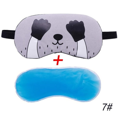 Sleep Mask  Cat Cartoon