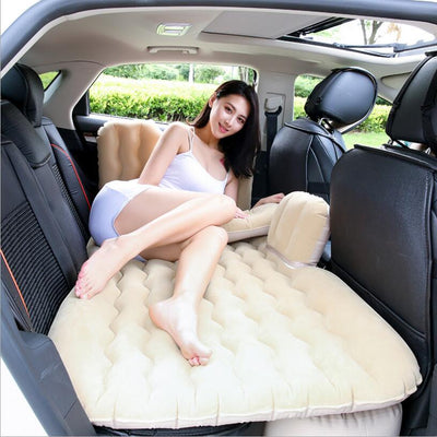 Car air mattress  Back Seat Cover Car Air Mattress Travel Bed