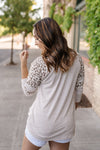 Twisted Tail Leopard Tunic