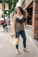 Cheetah On The Dunes Sleeveless Top