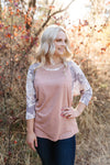 Colors Of The Wind Floral Sleeved Top