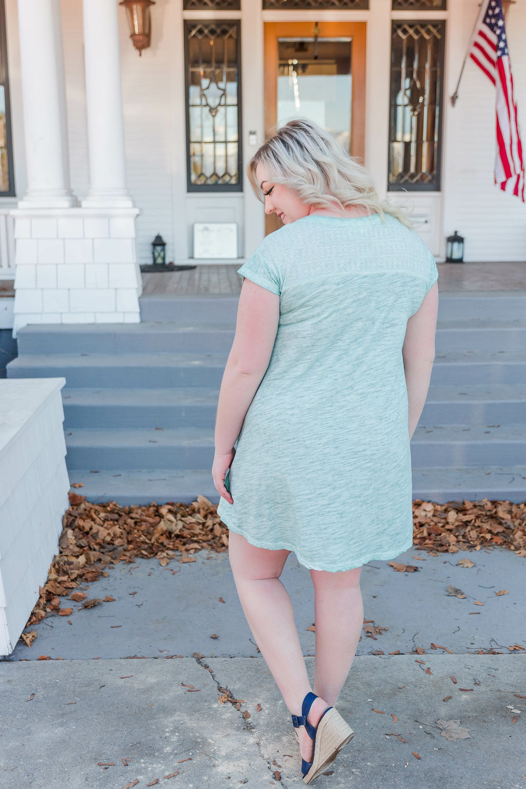A Little Hint Of Mint Dress