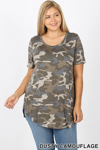 Dusty Camo Top preorder