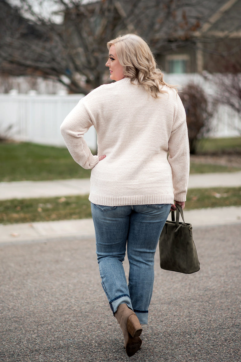 Secret To My Success Sweater In Cream