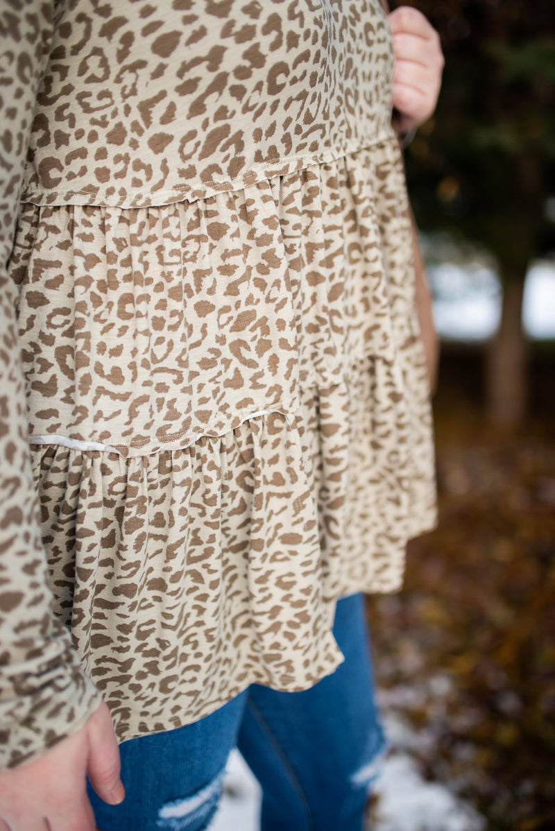 Tier For A Good Time Leopard Tunic