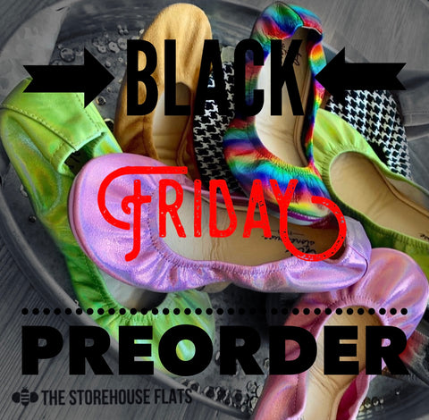 BLACK FRIDAY Storehouse Flats PREORDER SIZE 8