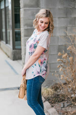 Wildflower At Heart Short Sleeve Top