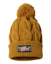 Load image into Gallery viewer, Made in Burque Pom-pom beanie