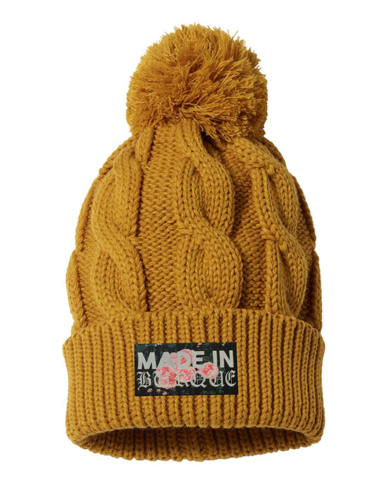 Made in Burque Pom-pom beanie