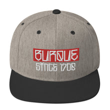 Load image into Gallery viewer, BURQUE 1706 Snapback Hat