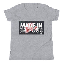 Load image into Gallery viewer, MADE IN BURQUE Youth Short Sleeve T-Shirt