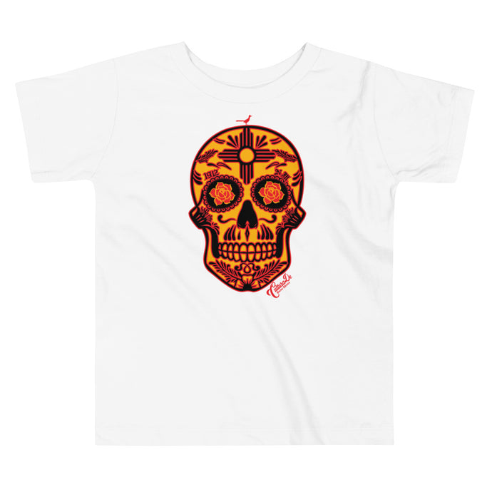 NM Sugar Skull Toddler Short Sleeve Tee