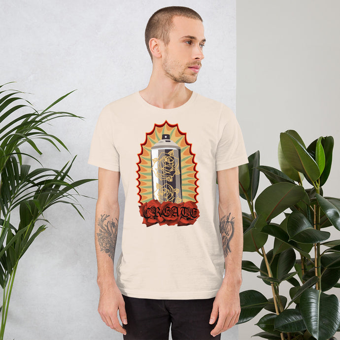 Create Vintage Short-Sleeve Unisex T-Shirt