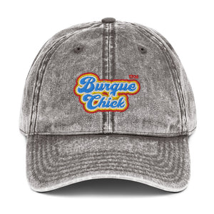 Burque Chick Vintage Cotton Twill Cap