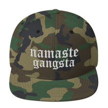 Load image into Gallery viewer, Namaste Snapback Hat