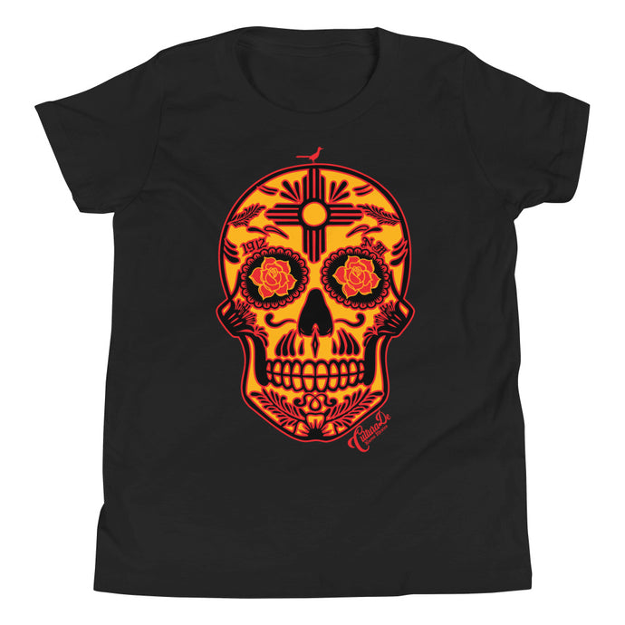 NM Sugar Skull Youth Short Sleeve T-Shirt