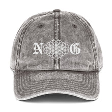 Load image into Gallery viewer, Namaste Gangsta Vintage Cotton Twill Cap