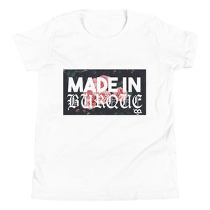 MADE IN BURQUE Youth Short Sleeve T-Shirt
