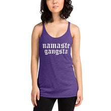 Load image into Gallery viewer, Namaste Gangsta Tank