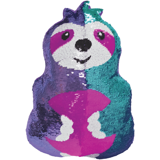 Sloth Reversible Sequin Pillow