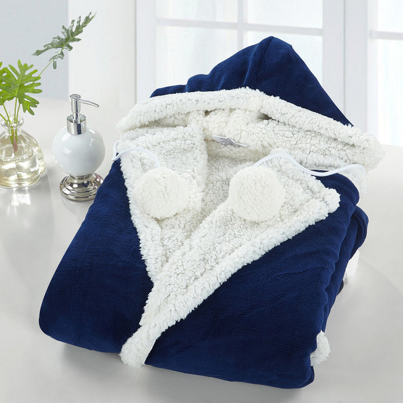 51x71 Hooded Snuggle / Hooded Blanket