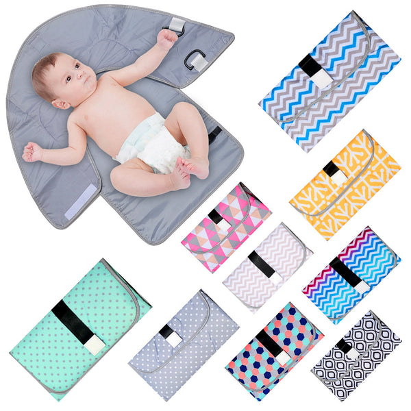 Portable Baby Diaper Changing Pad Mat