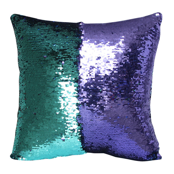 Sequin Shimmer Pillow Cover - Mermaid Shimmer Pillow