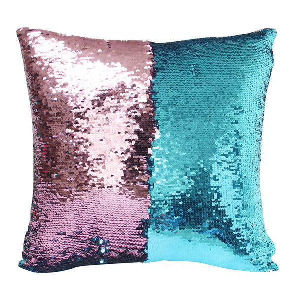 Sequin Shimmer Pillow Cover - Unicorn Shimmer Pillow