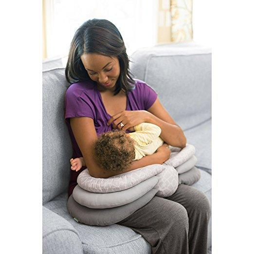 Mories Mom Feeding Pillows Adjustable Height