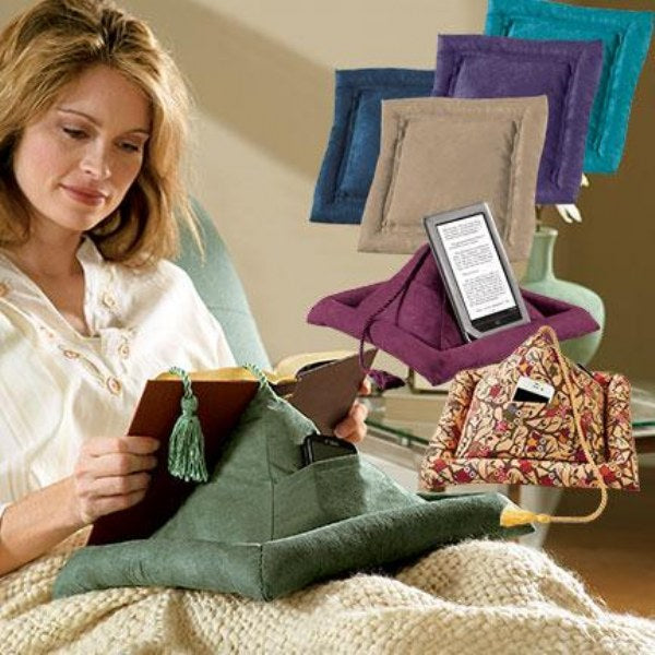 Hog Wild Peeramid Bookrest - Reading Pillow-Pillow-decor2house