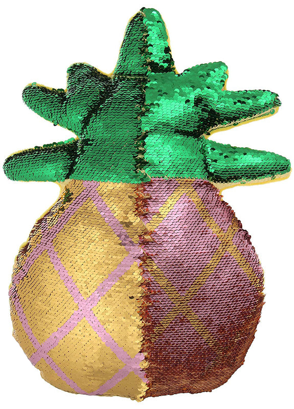 Pineapple Reversible Sequin Pillow
