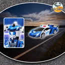 Auto Transforming RC Robot Car