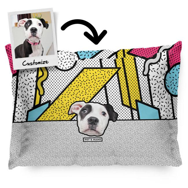 Personalized Custom Pet's Face - Pillow Sham