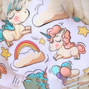 Baby Pillow - Unicorn Cloud | 100% organic pillow for newborn