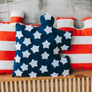 6pc Puzzle Shape Baby Play Mat - USA Flag-Puzzle Play Mat-decor2house