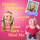 Personalized Photo Pillowcase Gift - Mini Me