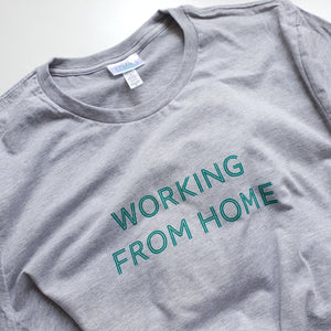 Working From Home Adult Unisex T-shirt