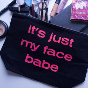 Its Just My Face Babe Make up Bag