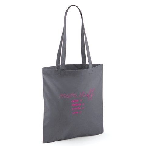 Mum Stuff Tote Bag