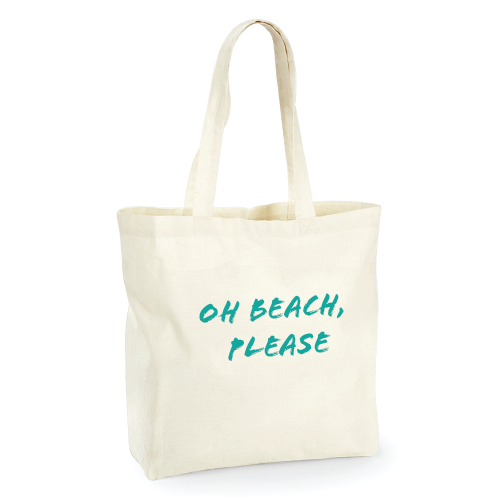 Oh Beach Please Large shopper