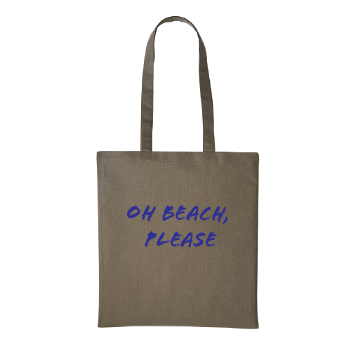 Oh Beach Please Tote Bag