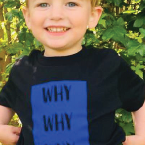 Why Why Why Kids Unisex T-Shirt