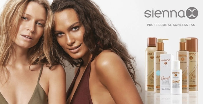 Get the professional summer glow look with Sienna X