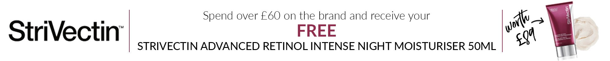 Strivectin free gift with purchase