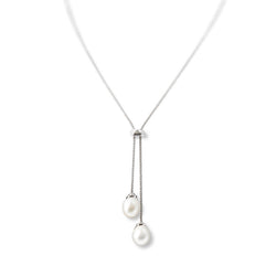 Adjustable Pearl Necklace