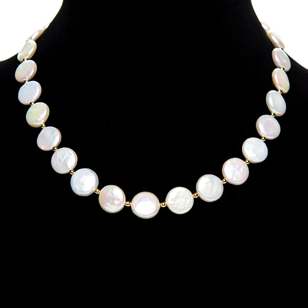 Coin Pearl Necklace