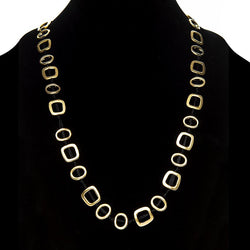 Linton Jewelry Long T-Shirt Necklace Golden